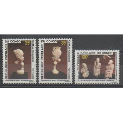 Congo (Republic of) - 1982 - Nb 660/662 - Art