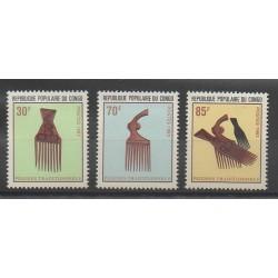 Congo (République du) - 1983 - No 705/707 - Art