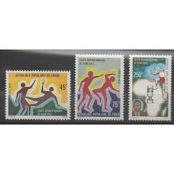 Congo (République du) - 1979 - No 551/553 - Sports divers
