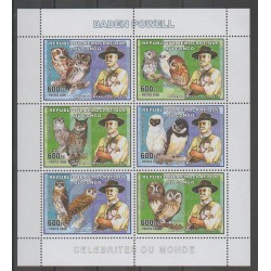 Congo (Democratic Republic of) - 2006 - Nb 1703/1708 - Scouts - Birds