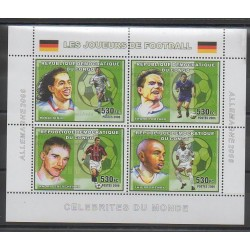 Congo (Democratic Republic of) - 2006 - Nb 1675/1678 - Football
