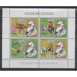 Congo (République démocratique du) - 2006 - No 1713/1716 - Animaux préhistoriques - Célébrités