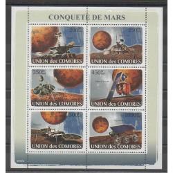 Comores - 2008 - No 1231/1236 - Espace