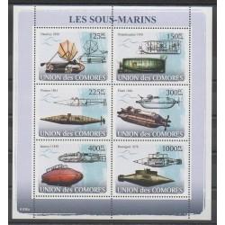 Comoros - 2008 - Nb 1237/1242 - Boats