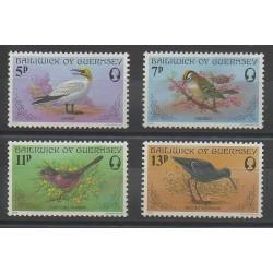 Guernsey - 1978 - Nb 160/163 - Birds