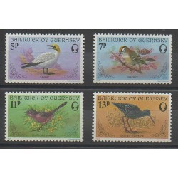 Guernesey - 1978 - No 160/163 - Oiseaux