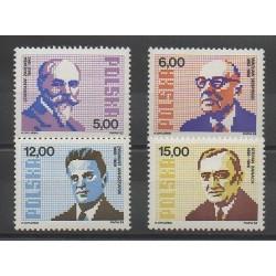 Pologne - 1982 - No 2646/2649 - Sciences et Techniques