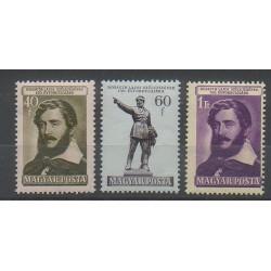 Hongrie - 1952 - No 1054/1056 - Célébrités