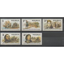 Poland - 1975 - Nb 2238/2242 - Various Historics Themes