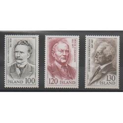 Iceland - 1979 - Nb 500/502 - Music