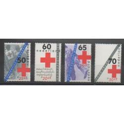 Pays-Bas - 1983 - No 1206/1209 - Santé ou Croix-Rouge