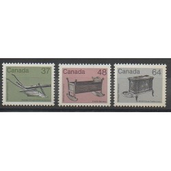Canada - 1983 - Nb 832/834 - Art