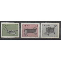 Canada - 1983 - No 832/834 - Art