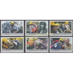 Man (Ile de) - 2001 - No 960/965 - Motos