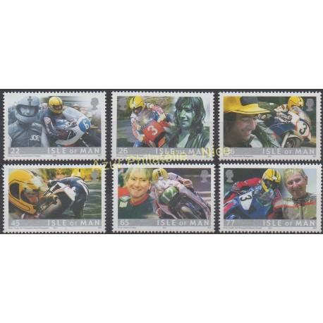 Man (Isle of) - 2001 - Nb 960/965 - Motorcycles