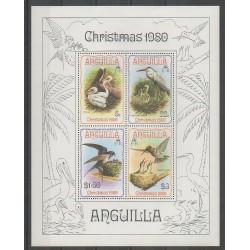 Anguilla - 1980 - No BF34 - Oiseaux - Noël