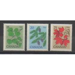Canada - 1977 - No 637/639 - Arbres