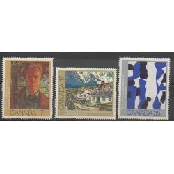 Canada - 1981 - No 766/768 - Peinture