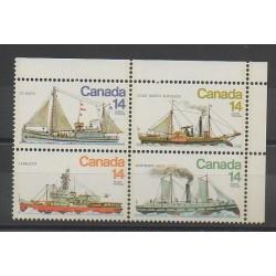 Canada - 1978 - No 685/688 - Bateaux