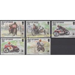 Man (Ile de) - 1991 - No 502/506 - Motos