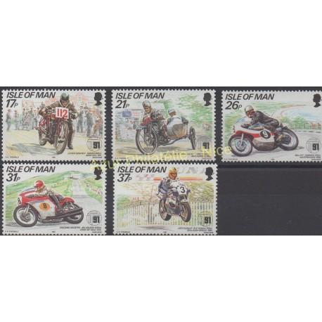 Man (Isle of) - 1991 - Nb 502/506 - Motorcycles
