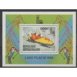 Centrafricaine (République) - 1979 - No BF37 - Jeux olympiques d'hiver