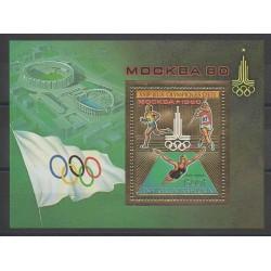 Centrafricaine (République) - 1979 - No BF35 - Jeux Olympiques d'été