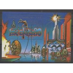 Centrafricaine (République) - 1979 - No BF34 - Jeux Olympiques d'été
