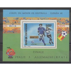Centrafricaine (République) - 1982 - No BF59 - Coupe du monde de football