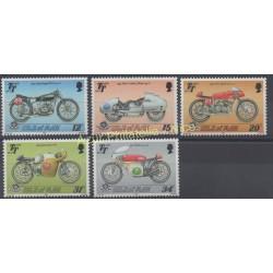 Man (Isle of) - 1987 - Nb 334/338 - Motorcycles