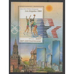 Central African Republic - 1982 - Nb BF61 - Summer Olympics