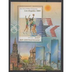 Centrafricaine (République) - 1982 - No BF61 - Jeux Olympiques d'été
