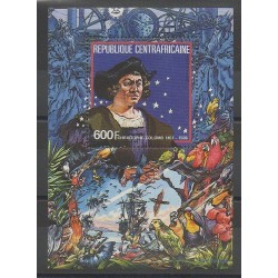 Centrafricaine (République) - 1985 - No BF83 - Christophe Colomb
