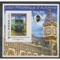 France - CNEP Sheets - 2016 - Nb CNEP73 - Trains