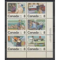 Canada - 1974 - Nb 534/539