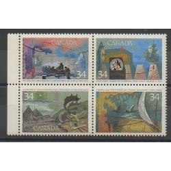 Canada - 1986 - Nb 964/967