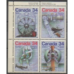 Canada - 1986 - Nb 959/962 - Science