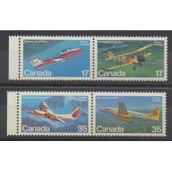 Canada - 1981 - Nb 779/782 - Planes