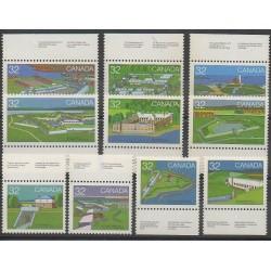 Canada - 1983 - No 838/847 - Monuments