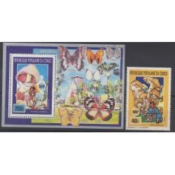 Congo (République du) - 1990 - No 884 - BF 46 - Champignons