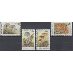 Antigua et Barbuda - 1989 - No 1182/1185 - Champignons