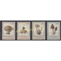 Luxembourg - 1991 - No 1217/1220 - Champignons