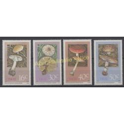 Afrique du Sud - Ciskei - 1988 - No 145/148 - Champignons