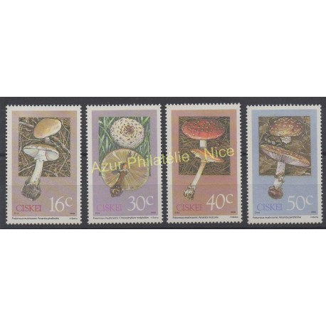 South Africa - Ciskei - 1988 - Nb 145/148