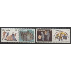 Canada - 1979 - Nb 713/716 - Art