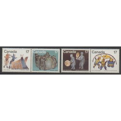 Canada - 1979 - No 713/716 - Art