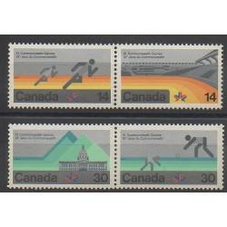 Canada - 1978 - No 672/675 - Sports divers