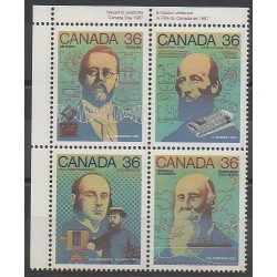 Canada - 1987 - Nb 1009/1012 - Science