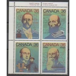 Canada - 1987 - No 1009/1012 - Sciences et Techniques