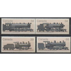Canada - 1985 - No 940/943 - Trains